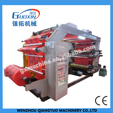 Multifunction 4 color paper/ non woven bag flexo printing machine