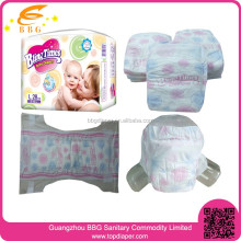 Selling new products super dry baby disposable diapers in high absorption
