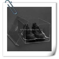 acrylic packaging box/package box, shoe display box for baby shoe, nike air jordan shoe box