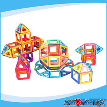 No.8316-120pcs Kids Magnetic DIY 3D Toys and Games Wholesale Intellectual baby Toys Environmental ABS Blocks