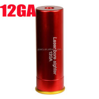 New 12 Gauge Red Laser boresighter bore sight from poery