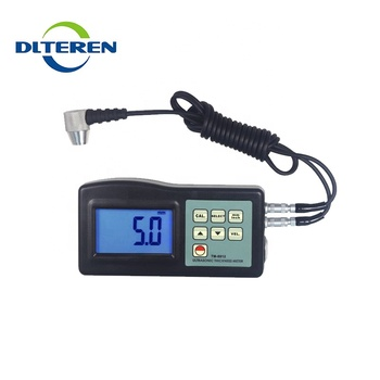 Different types portable galvanized Instrument film ultrasonic thickness gauge