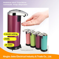 Kitchen Colorful Quality Refillable Stainless Steel household Sensor Automatic liquid Soap Dispenser with CE ROHS