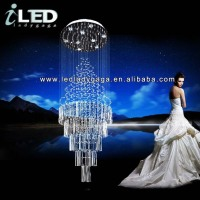 Diameter 80cm height 260cmModer comtemporary crystal chandelier pendant modern