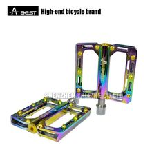 AEST Aluminum alloy bike pedals MTB / mountain peak pedals with good quality / custom bike pedals