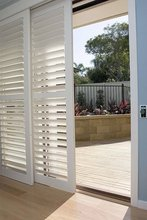 bright-white vertical window blinds shutters for sale
