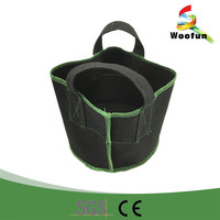 2016 handle fabric disposable folding plant pot
