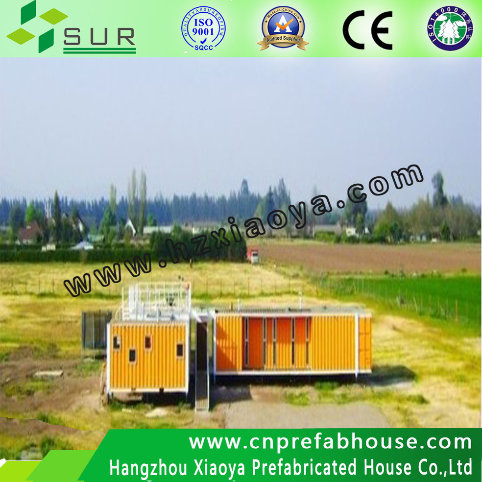 Luxury modern and economical CE standard prefab shipping mobile container home for workers/miners