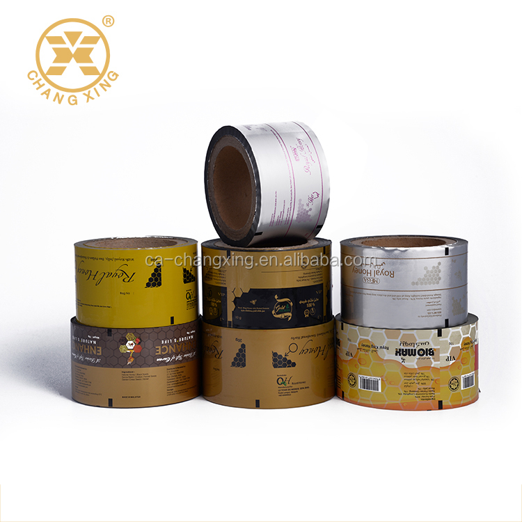 Auto-packaging BOPP\CPP\PET\AL\PE Food grade safety packaging roll film