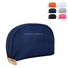 Women's portable cute cosmetic bag travel multi-functional Korean waterproof pure color bag mini clear makeup bag