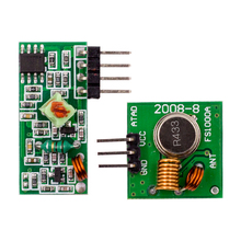 2017 Factory Outlet Green 433Mhz RF Wireless Module Transmitter and Receiver kit for Uno R3