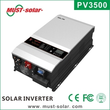 <Must Solar> Hot! CE ISO approved 10KVA 48V built in 120A MPPT solar controller off grid solar inverter