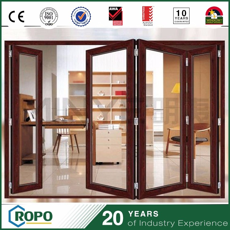 2016 hot sell wholesale costs as a aluminum door