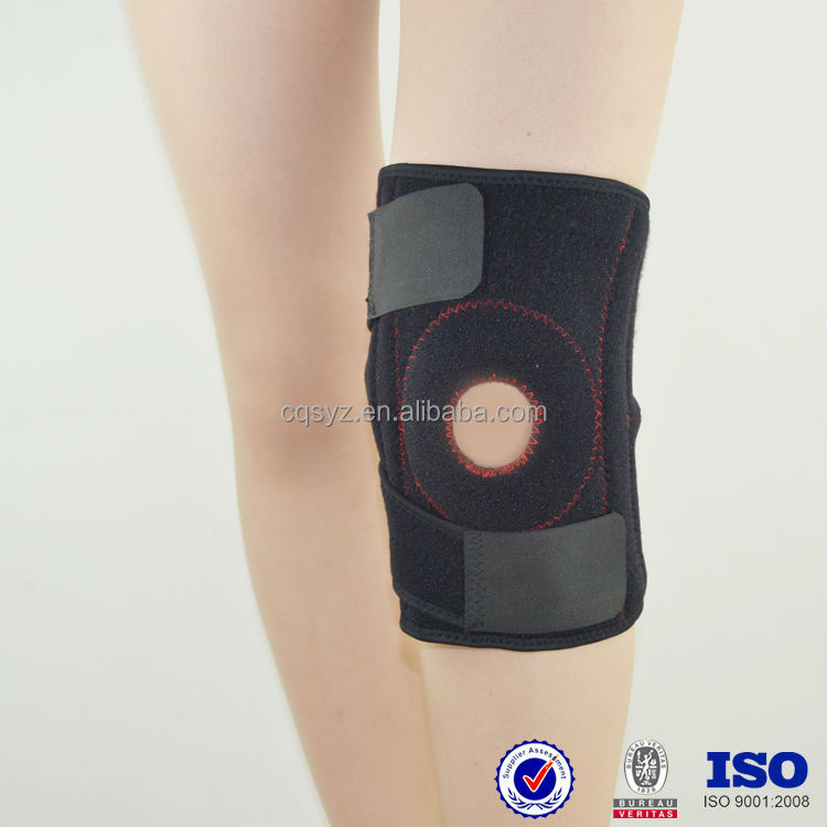 new neoprene OK cloth Adjustable comfortable guards with Non-slip material China manufacturer waterproof volleyball knee support