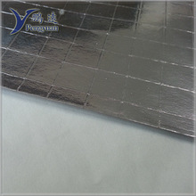 FSK reinforced vapor barrier foil building insulation material