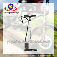 high quality Hand operated air tyre inflator pump with gauge