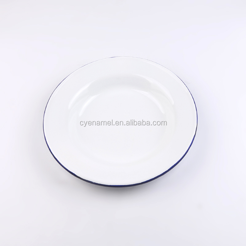 Enamel Metal Plate Sets