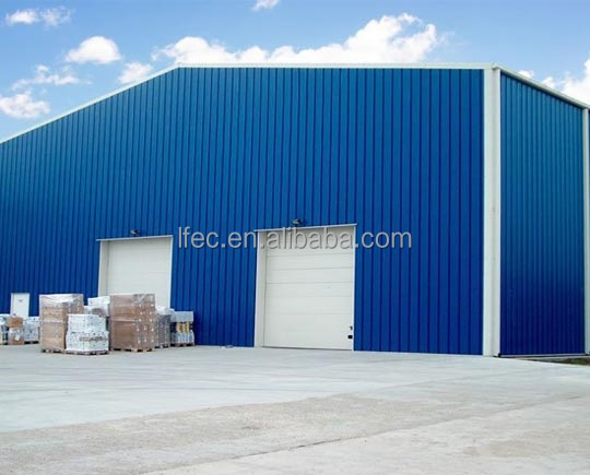 Certified Industrial Workshop Structure Steel Fabrication