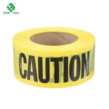 Custom hazard floor marking pvc caution warning tape