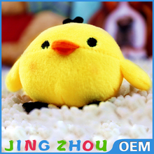 Soft fluffy chicken/ chick stuffed plush pillow / cartoon animal pet cushion