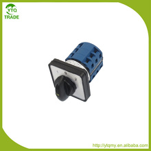 Hot Selling of Electric 3 Position 1-0-2 8 Terminals Rotary Cam Changeover Switch 660V 20A SZW26-20