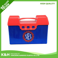 Multifunctional plastic square buckets with lid food grade 1.5 gallon plastic buckets with high quality