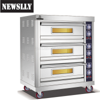 Stainless Steel Gas Used Bakery Oven