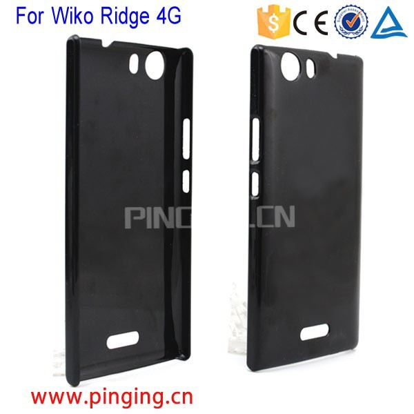 Factory Price simple design light PC hard back cover case for Wiko Ridge 4G
