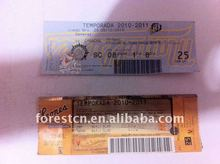thermal admission ticket printing