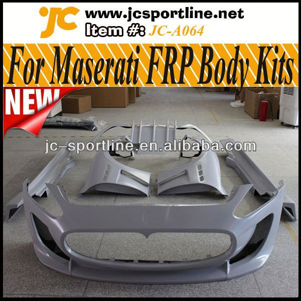 High Quality FRP kit carrosserie,Aerodynamic Part Auto Car Body Kit with Fenders For Maserati 11~12