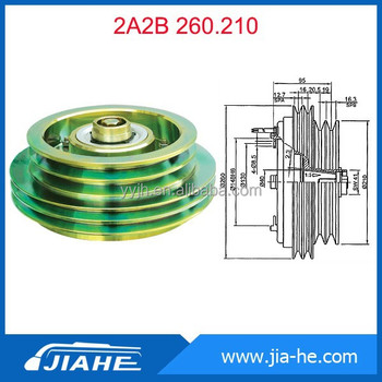 Bus AC clutch for bock fk40 Compressor/Bus Compressor Clutch parts/Bitzer electric clutch 2A2B 260 210