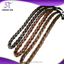 Various colors synthetic fibre braid hair extension for black women