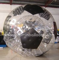 HI Hot Sales football inflatable body zorb ball made in China ZB06