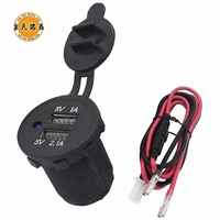 High quality 5V 2.1A Car Dual usb Socket for Car Cigarette Lighter Plug