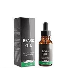 Private label high quality hair growth oil organic beard oil for men