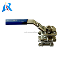 Best price base on high quality flow control manual handle stainless steel dn25 water inlet ball valve