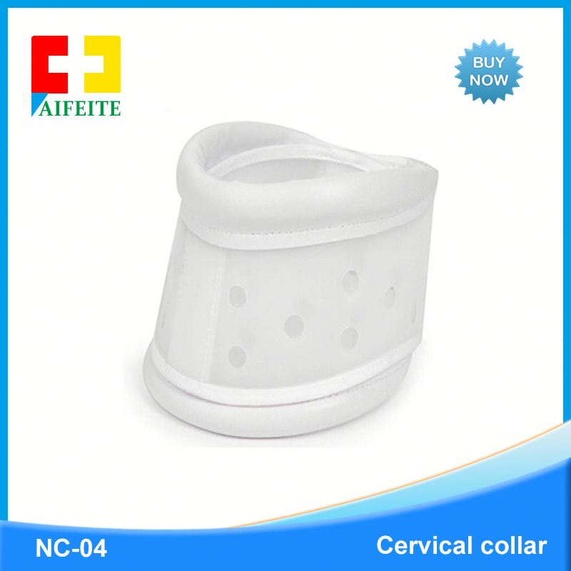 Medical rigid plastic adjustable Medical cervical collar neck collar with CE approved
