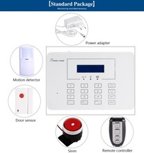 Factory Price Wireless Full Touch Keypad Auto Dial Burglar Alarm System