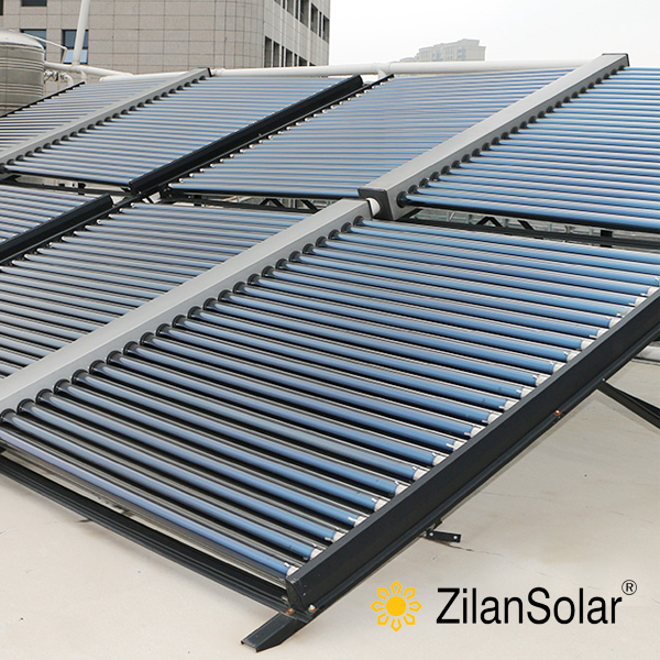 Pressurized heat pipe solar collector solar energy