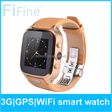 3G Waterproof OS 4.4 Dual Core Ram 1gb 5mp camera bluetooth android watch phone sim