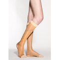 Women thin knee high stockings slim leg compression socks (Made in Taiwan)