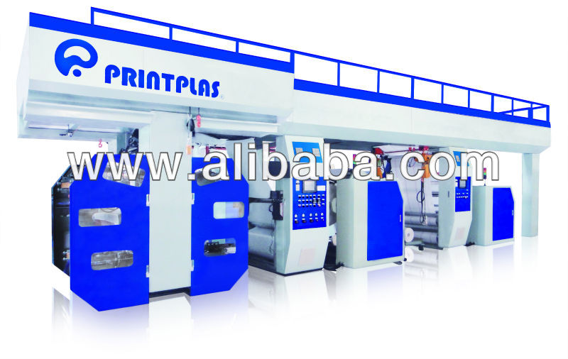 "HIGH SPEED "" BULL GEAR "" SYSTEM FLEXO GRPAHIC PRINTING MACHINE"