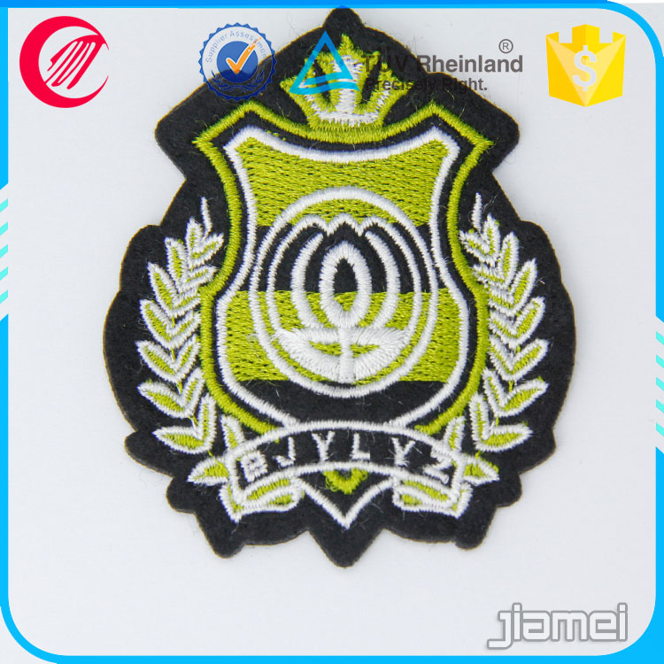 Good quality sew on security officer embroidery patch