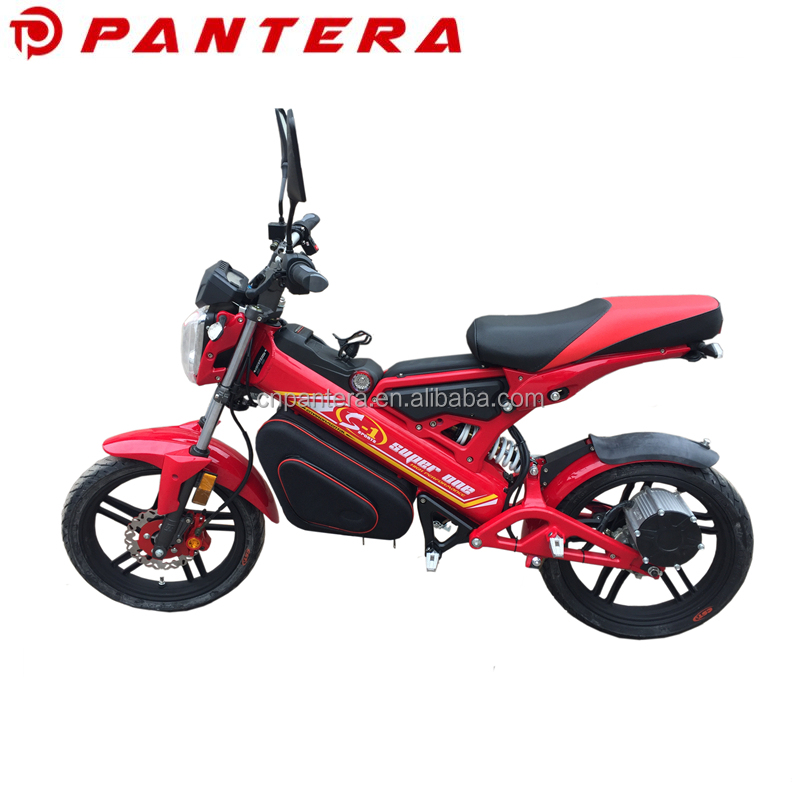 Portable Cheap New Model 1500W EEC Chinese Supplier Foldable Electric Motorcycle 8000W