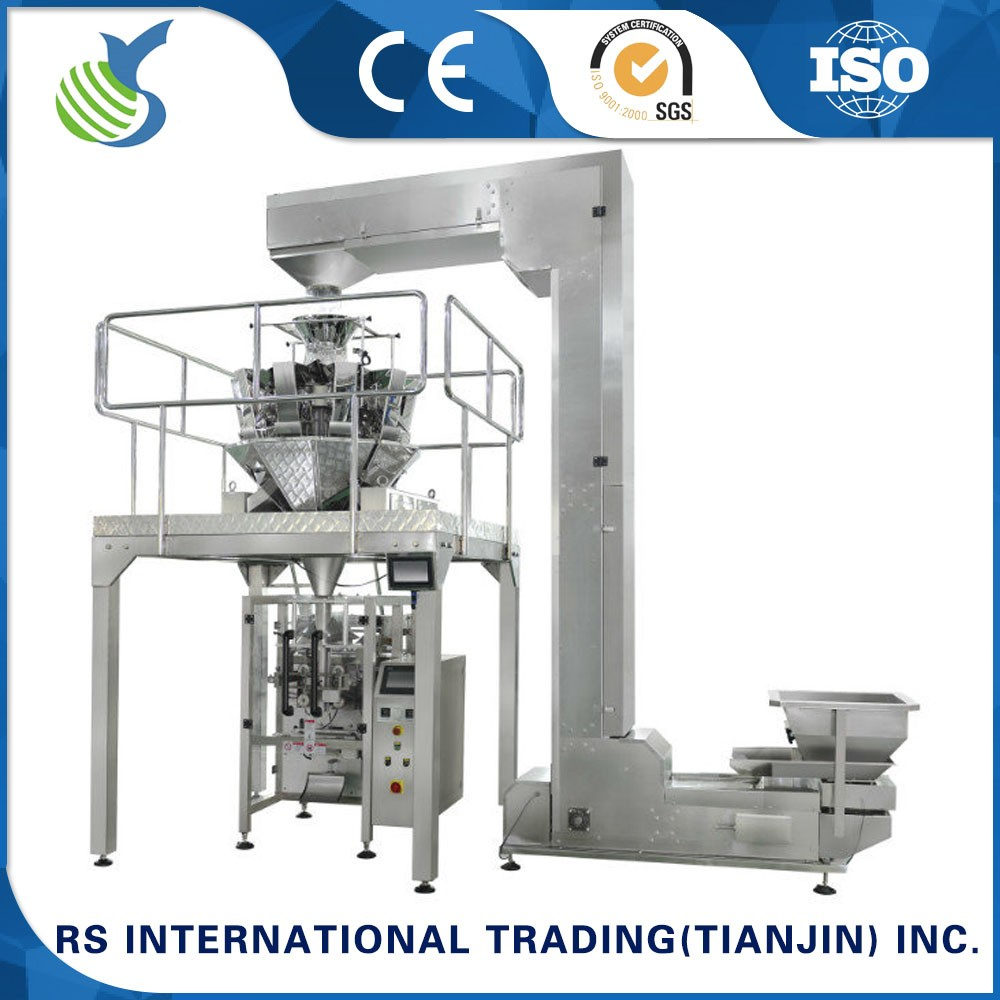vffs multihead weigher packing machine for mushroom