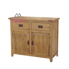 316 Natural chunky solid oak small sideboard/dining room furniture