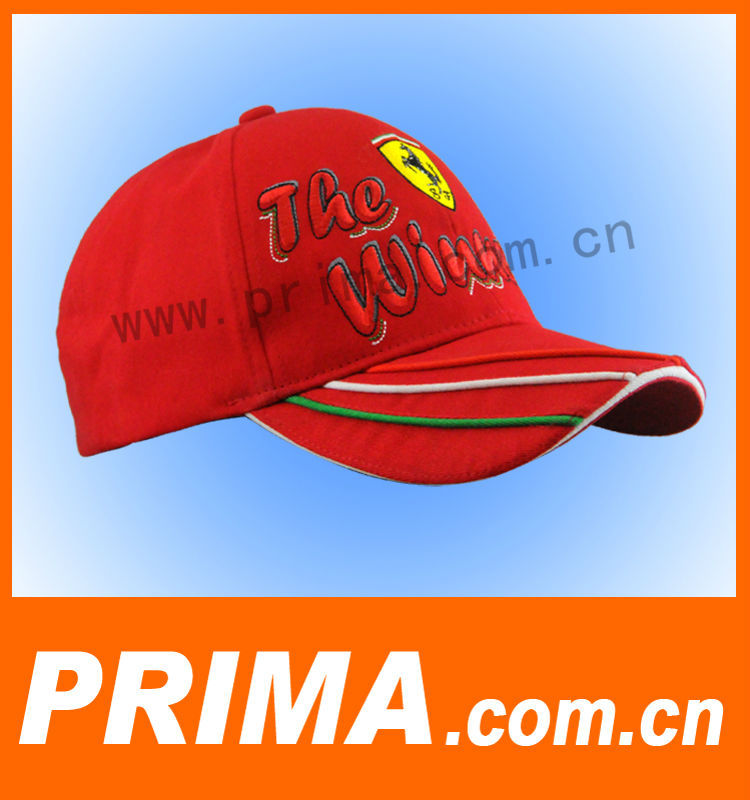 Fashion red men hat for sports
