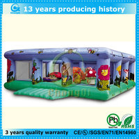 Lion king animal air jumping castle