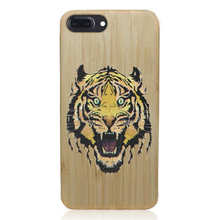 Universal 5.5 inch PC+painted wood cheap mobile phone case, mobile phone cover for iPhone 6 6S 7 plus