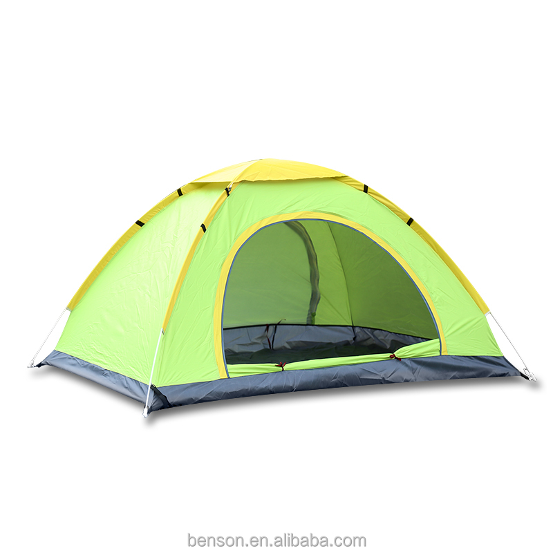 double people double door waterproof outdoor hiking climb tents